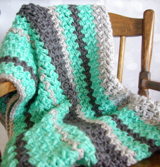 Mini Bean Baby Afghan