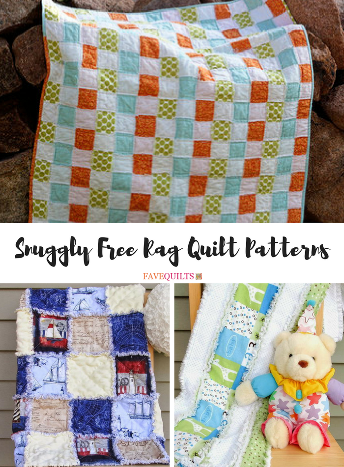 35 Snuggly Free Rag Quilt Patterns Favequilts