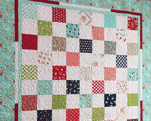 Garden Gate Charm Quilt | FaveQuilts.com : fave quilts - Adamdwight.com