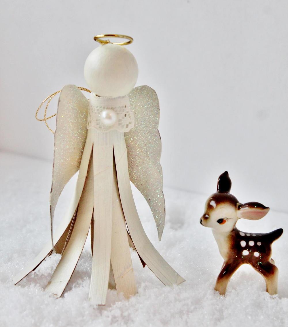 Toilet paper tube angel allfreechristmascrafts jeuxipadfo Images
