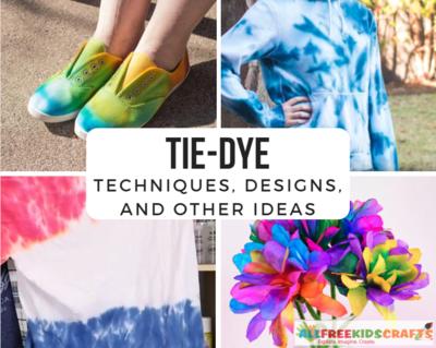 How to Tie Dye: 34 Tie Dye Techniques, Tie Dye Designs + Other Tie ...