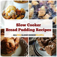 20 Slow Cooker Bread Pudding Recipes
