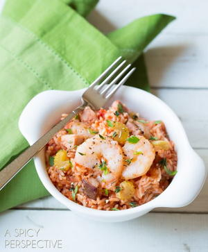 Jazzed Up Jambalaya
