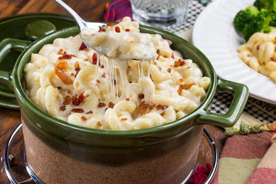 Extreme Bacon Mac n Cheese