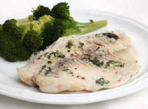 Slow Cooker Garlic Butter Tilapia