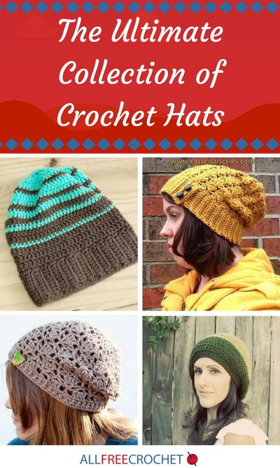Crochet Hat Patterns: The Ultimate Collection | AllFreeCrochet.com