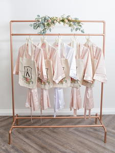 Sophisticated Copper Pipe Garment Rack