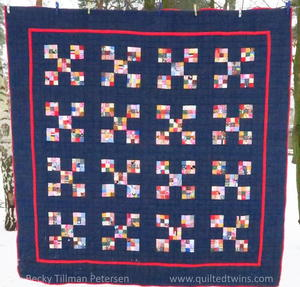 Scrappy Meets Amish Quilt Pattern