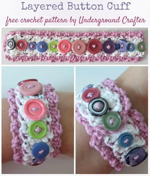 Layered Button Cuff
