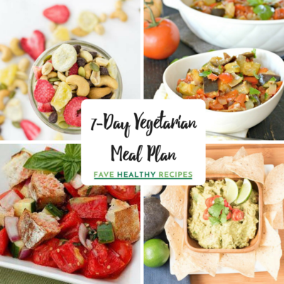 7-Day Vegetarian Meal Plan