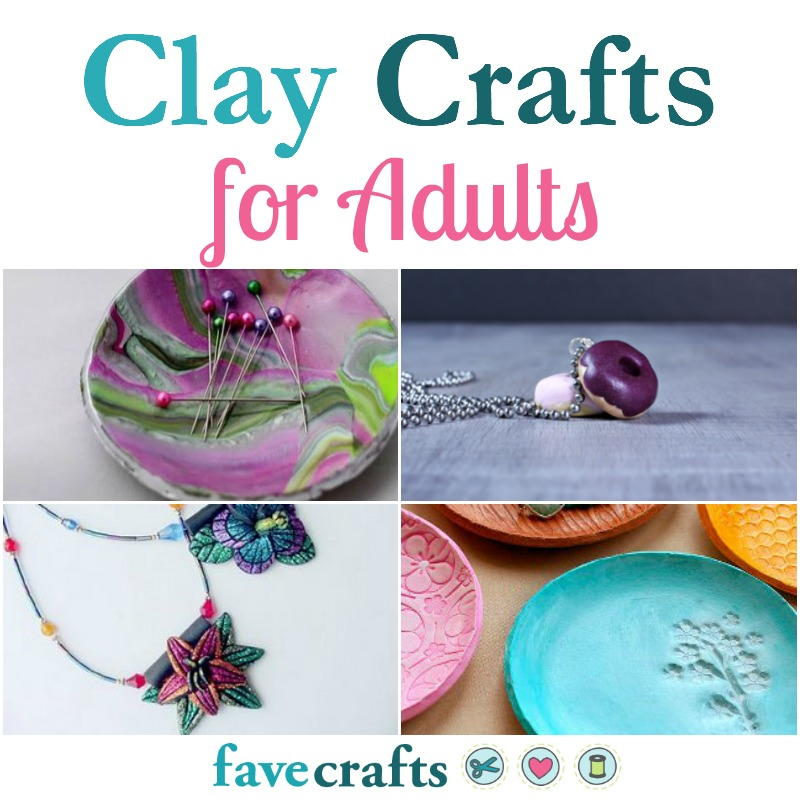 41 clay crafts for adults favecrafts solutioingenieria Choice Image