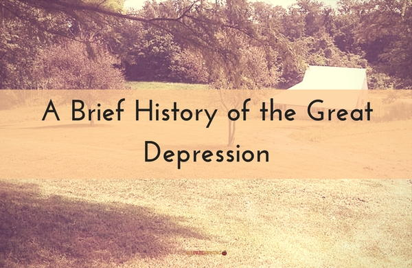 the history of the great depression and its effects The eleanor roosevelt papers project is a university-chartered research center associated with the department of history  great depression  its 1929 level and.