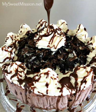 Chocolate Overload Ice Cream Cake