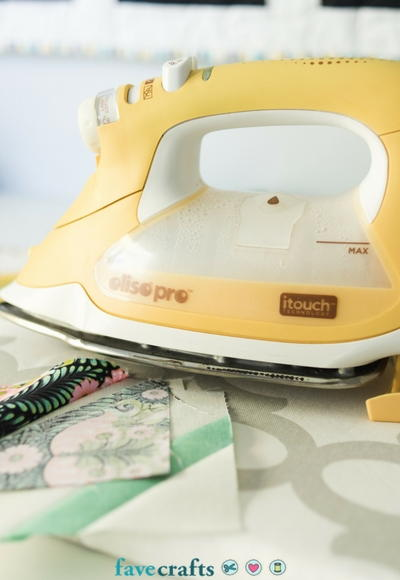 How to Press Flowers with an Iron