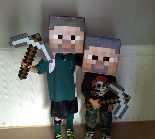 Printable Minecraft Steve Head : printable minecraft costume  - Germanpascual.Com
