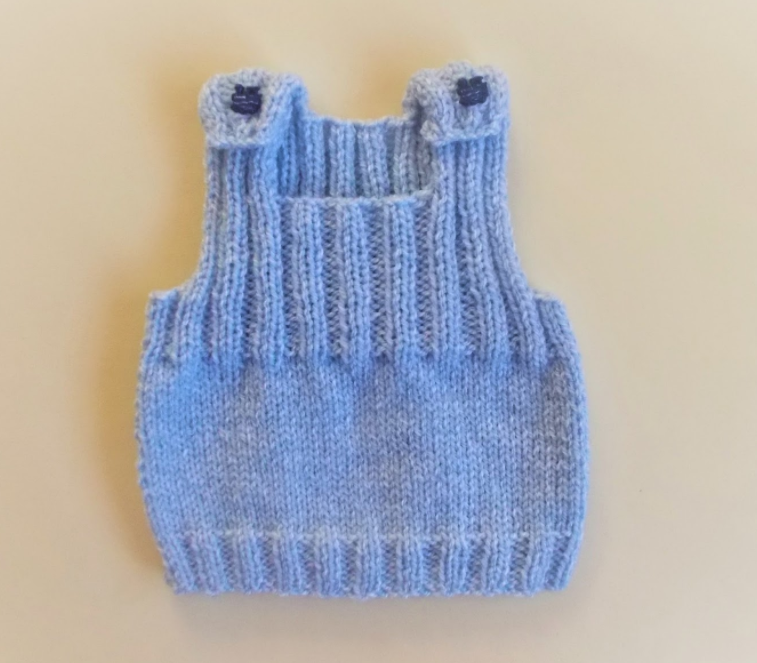 Ribbed Knit Baby Vest Pattern Allfreeknitting