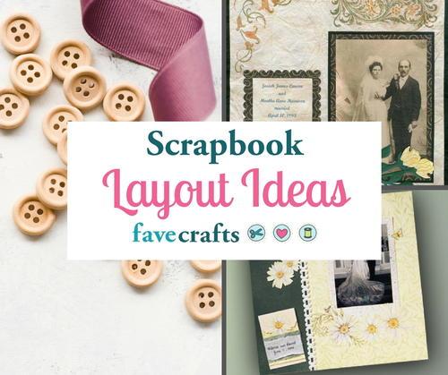 Scrapbook Layout Ideas 5 Scrapbook Templates To Inspire