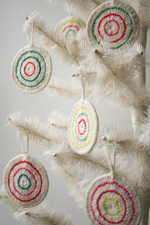 Candy Crochet Christmas Ornaments