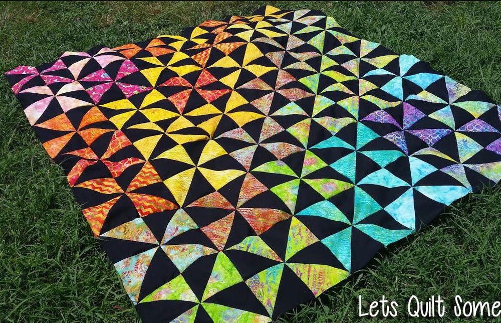 Layer Cake Log Cabin Quilt Pattern