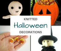 15+ Knit Halloween Decorations