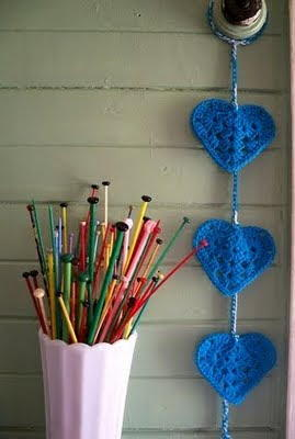 Sweet Small Crochet Hearts