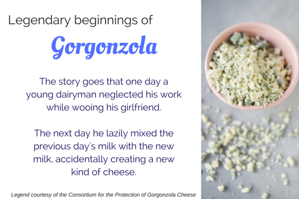 Gorgonzola cheese legend