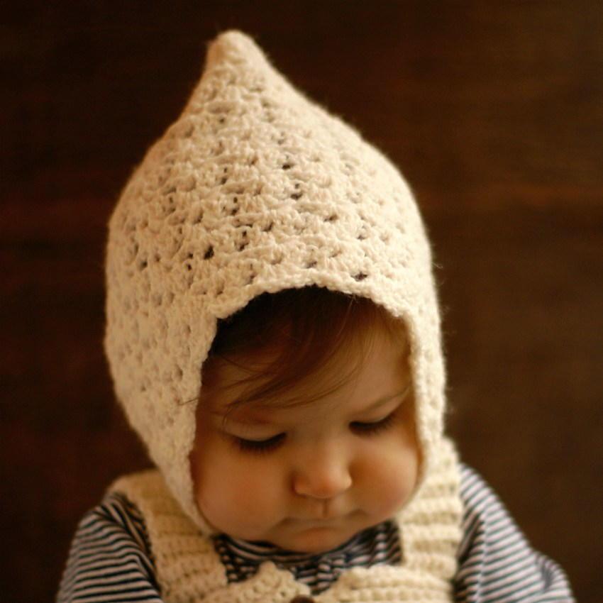 Vintage Crochet Pixie Baby Hat Allfreecrochet