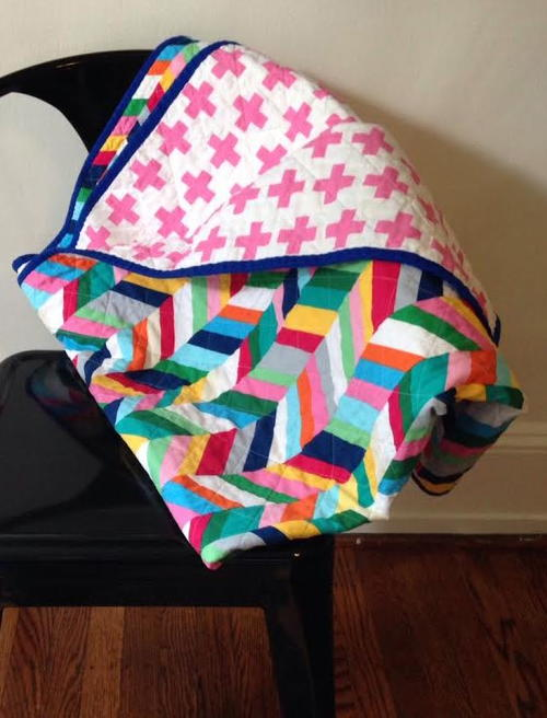 4-Step Quilted Blanket