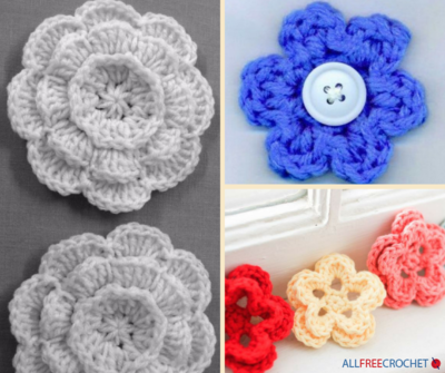 How To Crochet Flowers 40 Easy Crochet Flower Patterns Amazing Crochet Flowers Patterns