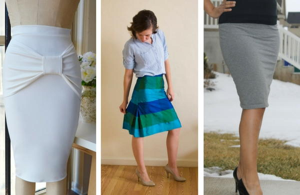 How to Make a Pencil Skirt: 11 Free Skirt Patterns   AllFreeSewing.com