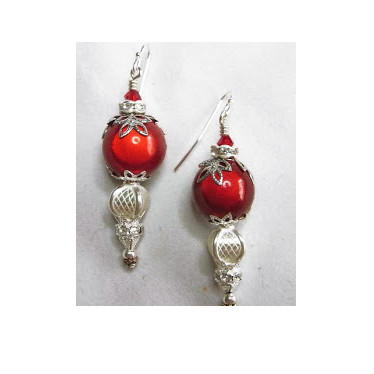 Luminous Elegant Ornament Earrings