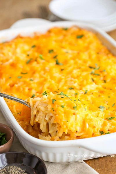 Copycat Cracker Barrel Hashbrown Casserole Recipe