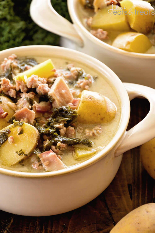 Lighter Olive Garden Zuppa Toscana Recipe | AllFreeCopycatRecipes.com