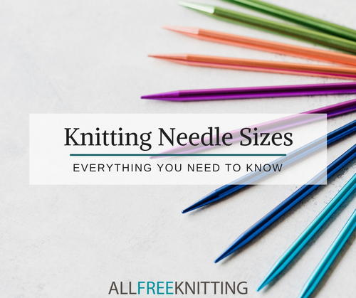 Knitting Needle Conversion Chart Everything You Need To Know