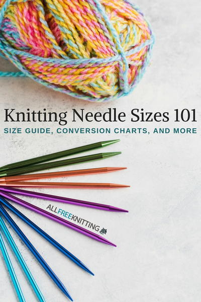 Knitting Needle Sizes 101: Everything You Need to Know