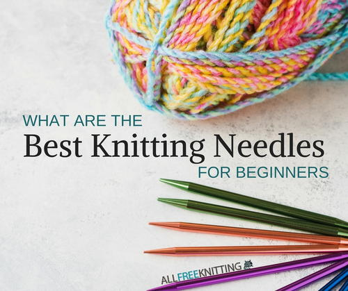 how to start a knitting needle