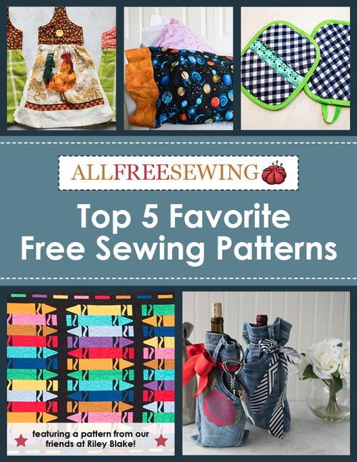 Top 5 Favorite Free Sewing Patterns | AllFreeSewing.com