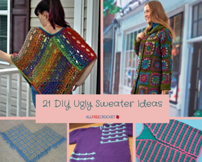 21 Diy Ugly Sweater Ideas Allfreecrochet Com