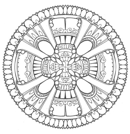 Emperors Festival Adult Coloring Page