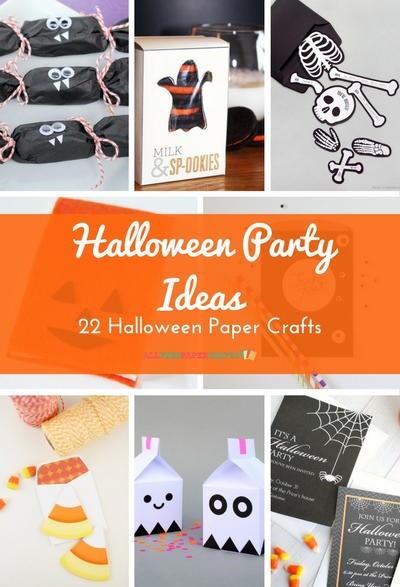 Halloween Party Ideas 22 Halloween Paper Crafts