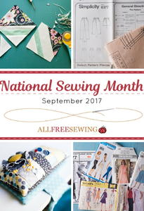 National Sewing Month 2017