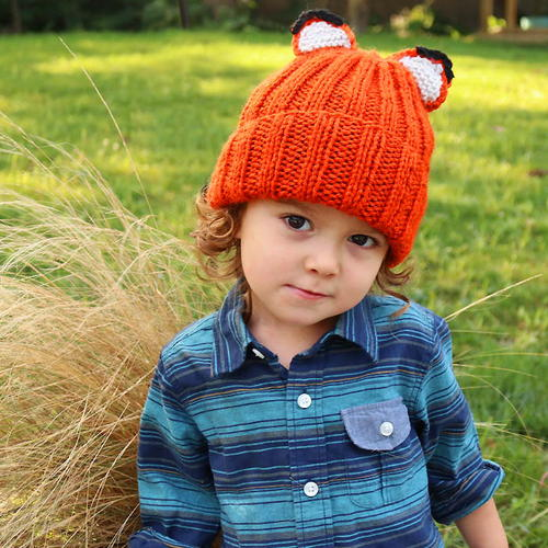 Feeling Foxy Knit Hat