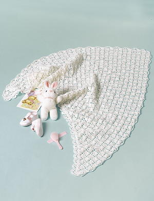 Crochet Shawl for Baby