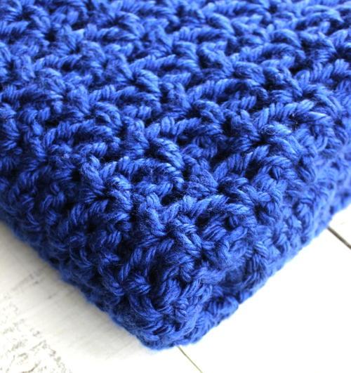 Crochet V Stitch Lapghan Allfreecrochet