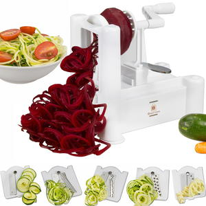 Brieftons 5-Blade Vegetable Spiralizer Giveaway