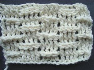 Basket Weave Crochet Stitch Tutorial