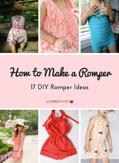 How to Make a Romper 17 DIY Romper Ideas