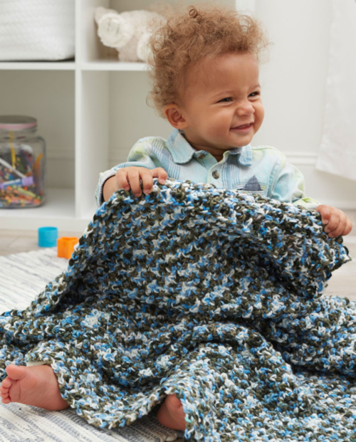Fun and Hugs Baby Blanket
