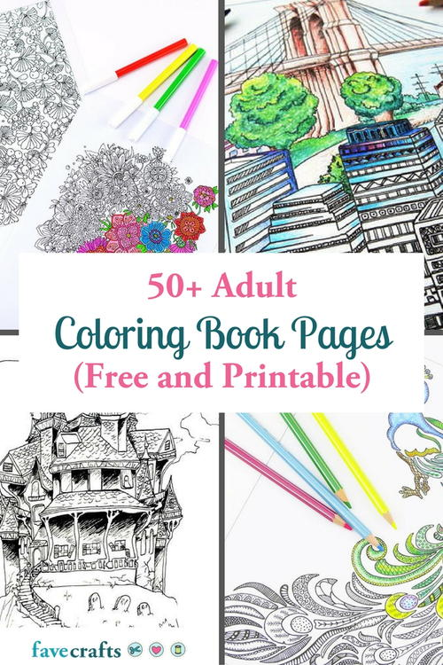 adult coloring book pages - Coloring The Pictures