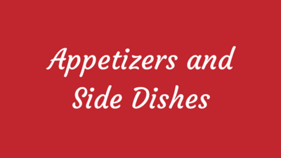 Alton Brown Appetizers and Side Dishes for Any Occasion